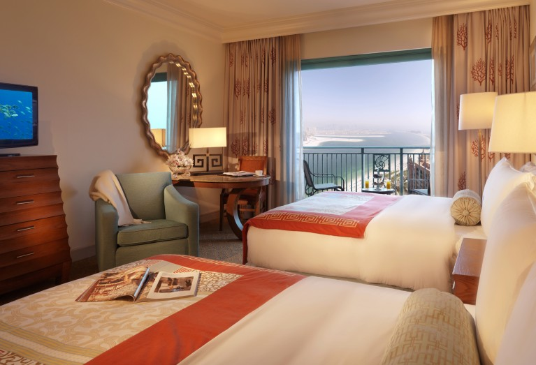 Palm Beach Deluxe Room - Atlantis The Palm - Dubaj