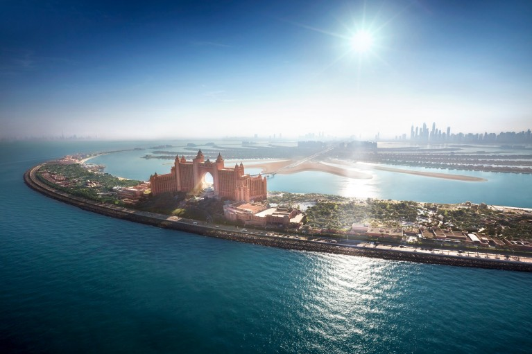 Palm Island - Atlantis The Palm - Dubaj