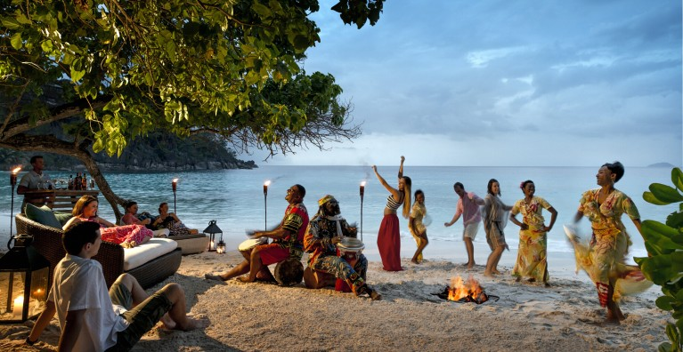 Beach party - Four Seasons Seychelles - Seychely